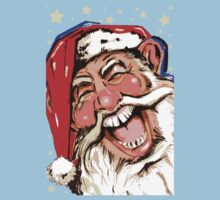 Ho, Ho, Ho Santa One Piece - Short Sleeve