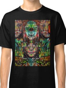 Trip-O-Vision Online Gallery Design 22: Laced Faced Classic T-Shirt