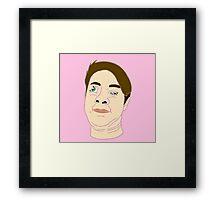 My Bust Framed Print