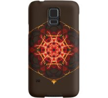 Energetic Geometry - Hexagon Mandala  Samsung Galaxy Case/Skin