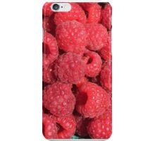 Plymouth Farmers Market Raspberries  iPhone Case/Skin