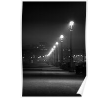 Seafront Lights Poster