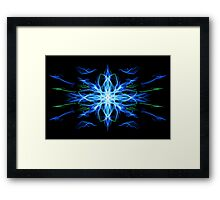 Energetic Geometry- Water Element Framed Print