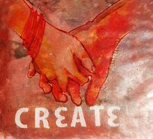 Create - Holding Hands by Jenna  Stone