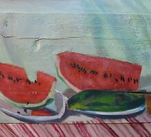 Watermelons by AgnesZirini