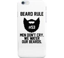 Beard Rule #53 iPhone Case/Skin