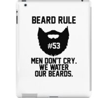 Beard Rule #53 iPad Case/Skin