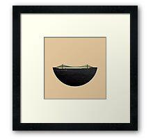 Skyless Composition 2 | Three Framed Print