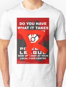 Vandalized Poke-League Sign Up Unisex T-Shirt