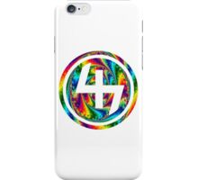 47 (4th and 7th Chakra) ACID LSD WARP iPhone Case/Skin