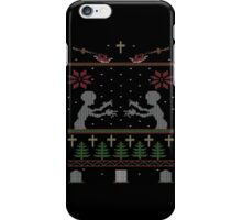 UGLY BUFFY CHRISTMAS SWEATER iPhone Case/Skin