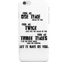 No Role Modelz - J. Cole iPhone Case/Skin