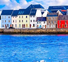 Shores Of Galway In The Winter by Mark Tisdale