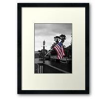 I Pledge Allegiance Framed Print