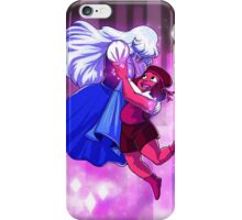 Ruby and Sapphire - Gem Glow iPhone Case/Skin