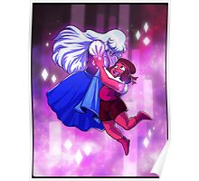 Ruby and Sapphire - Gem Glow Poster