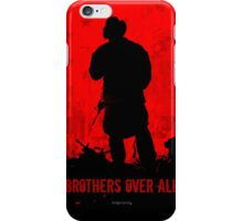 Red Flag- Brothers iPhone Case/Skin