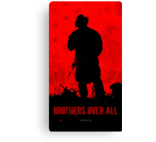 Red Flag- Brothers Canvas Print