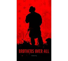 Red Flag- Brothers Photographic Print