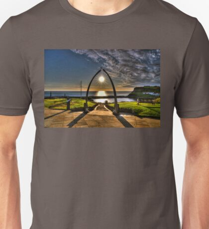 Whitby Whale Jaw Bone Arch Unisex T-Shirt