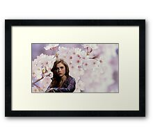 Lydia Martin Into The Woods Framed Print