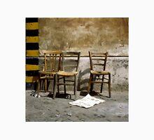 Three Chairs painting brush strokes Unisex T-Shirt