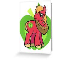 big Macintosh Greeting Card
