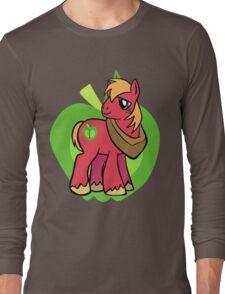 big Macintosh Long Sleeve T-Shirt