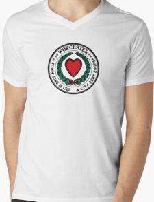 Seal of Worcester Mens V-Neck T-Shirt
