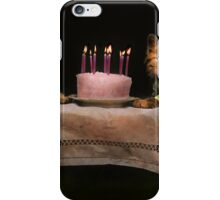 Cat - It's our birthday - 1914 iPhone Case/Skin