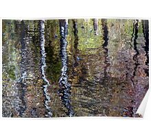 Impressionist Reflection Poster