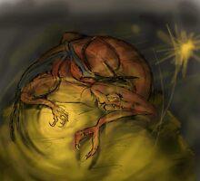 Dragon Gold by ebbiewilliams