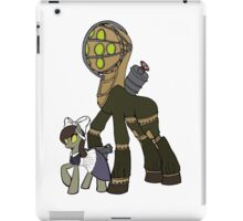 Big Daddy and little sister iPad Case/Skin