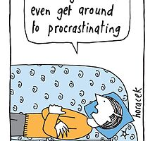 Procrastination by judyhoracek