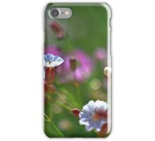 Clifftop Flowers, Limestone Coastal Plateau iPhone Case/Skin