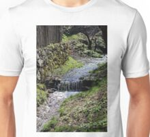 Small creek along the fence in Sibiel Romania Unisex T-Shirt