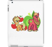 apple jack and big mac iPad Case/Skin