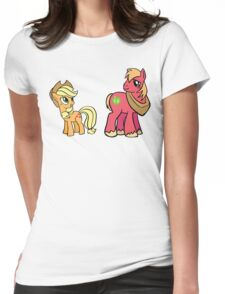 apple jack and big mac Womens Fitted T-Shirt
