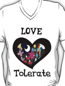 love and tolerate T-Shirt