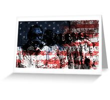 Gas Chamber  Greeting Card