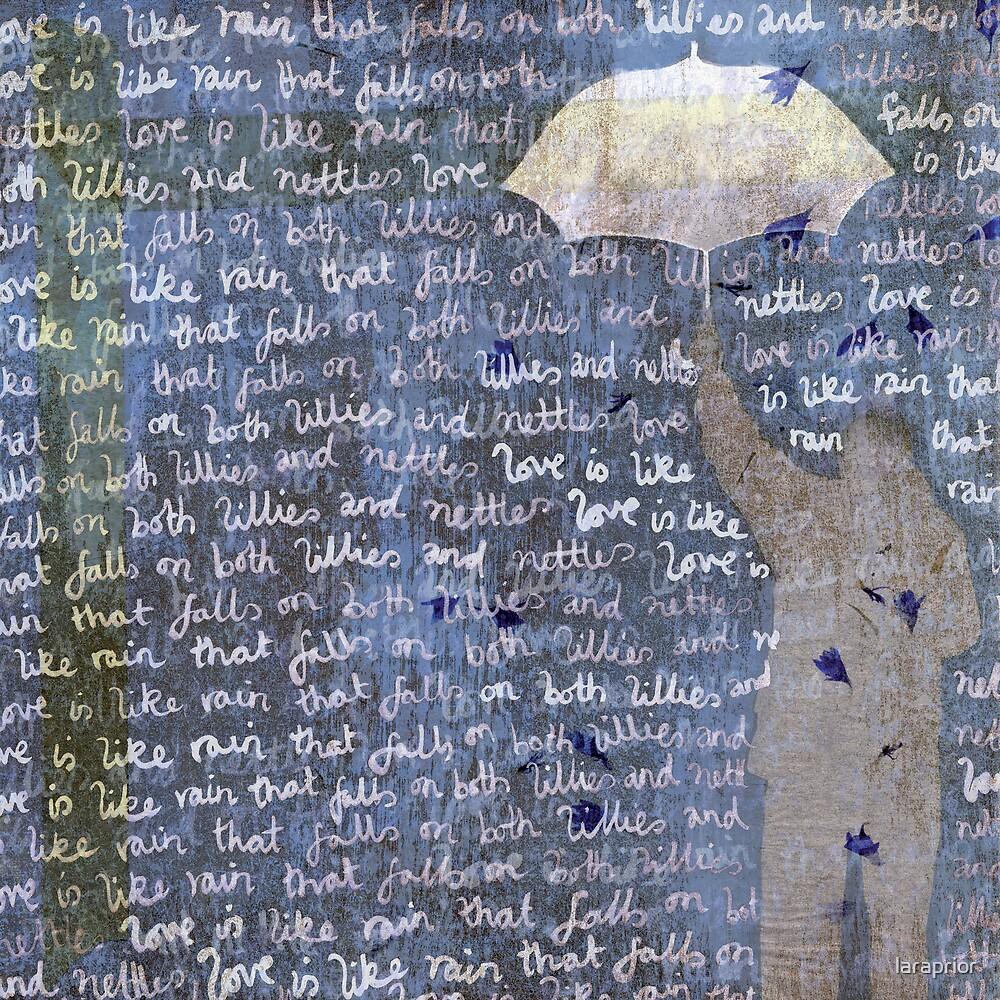 Love is Like rain by laraprior