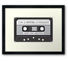 Kirk Van Houten Tape Framed Print