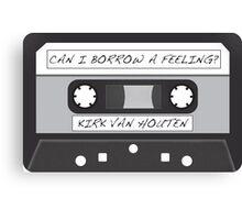 Kirk Van Houten Tape Canvas Print