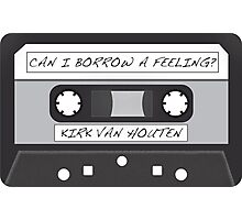 Kirk Van Houten Tape Photographic Print