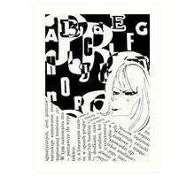 Press Art Print
