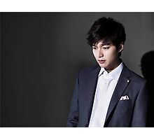 Lee Min Ho Photographic Print