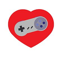 SNES Love by EdwardsGraphics