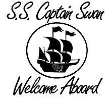S.S. Captain Swan Photographic Print