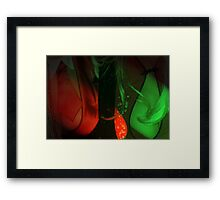Red Breasts Framed Print