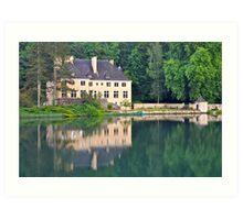 Chateau du Lac Art Print